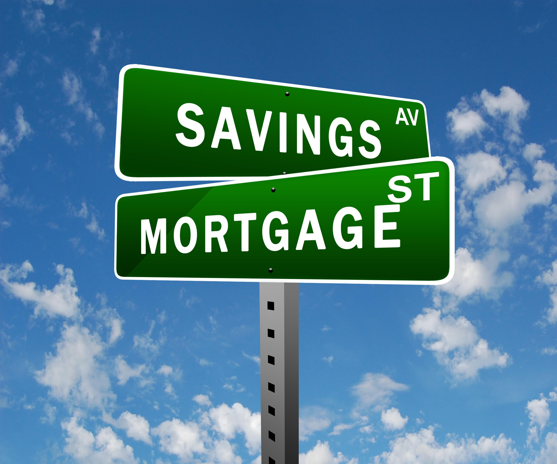 savings and mortgage